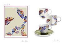 Annie Phillips' Homeware Catalogue - Liberty Leaf Design 1