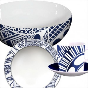 Tableware and bathroom accessories, cups and saucers